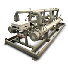 skid heating system