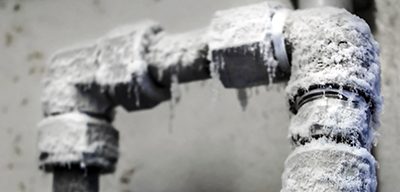 Freeze protection for water pipes