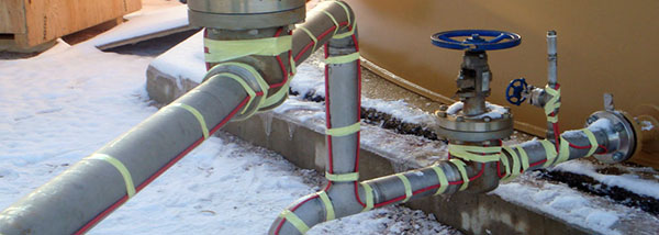 Pipe Freeze Protection Heat Trace Cable Protherm